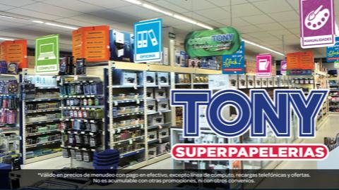 Tony superpapelerias - Club de descuentos Quality Assist
